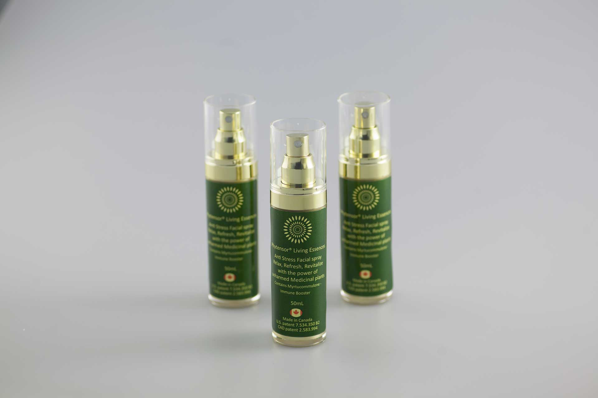 spray trio living essences anti stress